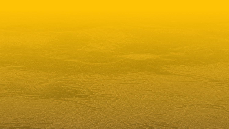 Simulated view of Venus